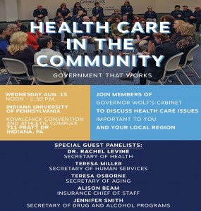 Health Care in the Community Event 8-15-18